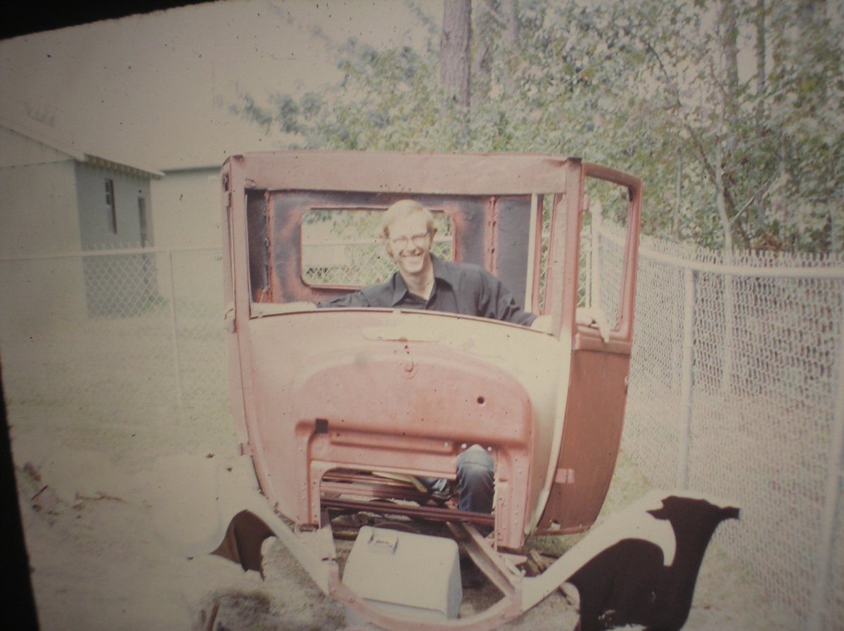 My first old car 1927 Model T 1972.JPG