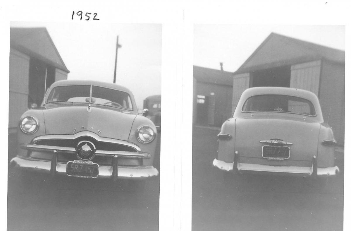 MY SECOND CAR 1949 FORD TUDOR   1952.jpg