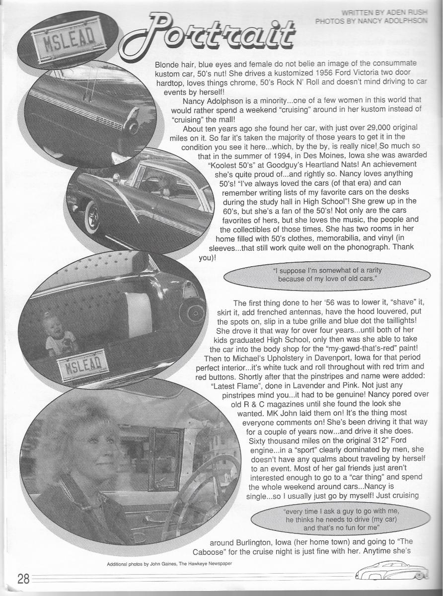 Nancy Adolphson 56 Ford a SL JanFeb 95 p28.png