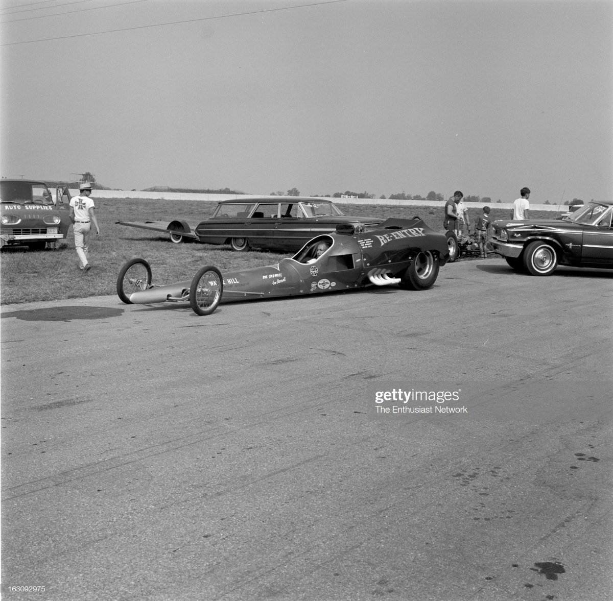 NHRA Nationals Drag Races - Indianapolis. The Re-Entry streamliner.jpg