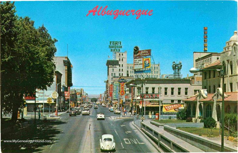 NM-Albuquerque-New-Mexico-Central-Avenue-looking-West-vintage-postcard-photo.jpg