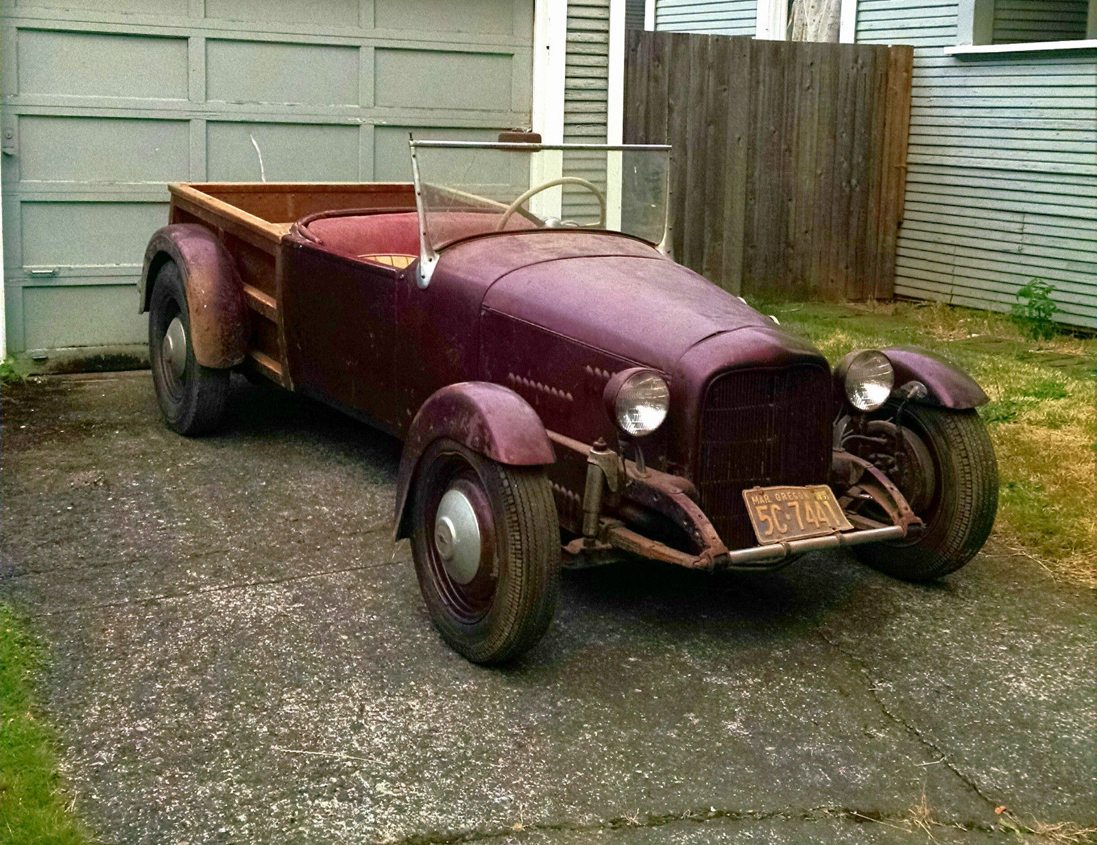 Old hot rod $125K - Lots to restore this car   The H.A.M.B.