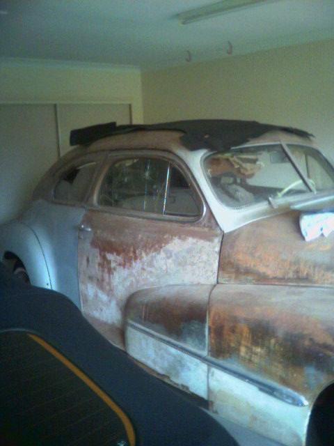 Olds in garage.jpg