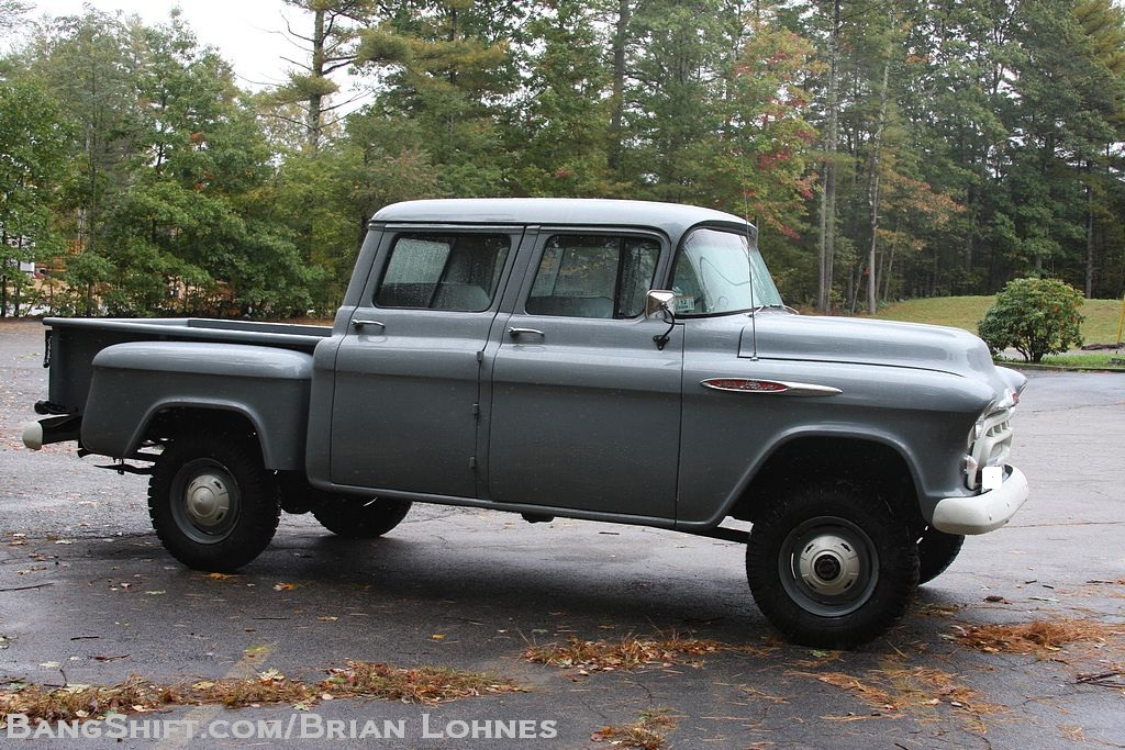 Orrville Conversion 1957 Chevy Crew Cab One Ton Truck49 Jpg