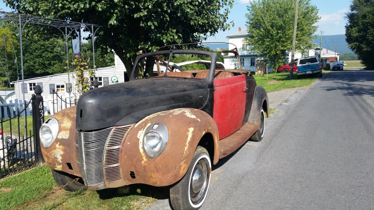 1940 Convertible Price Lowered Sold The Hamb Ford Car Complete Wiring Harness Our As Of Aug 27 2016