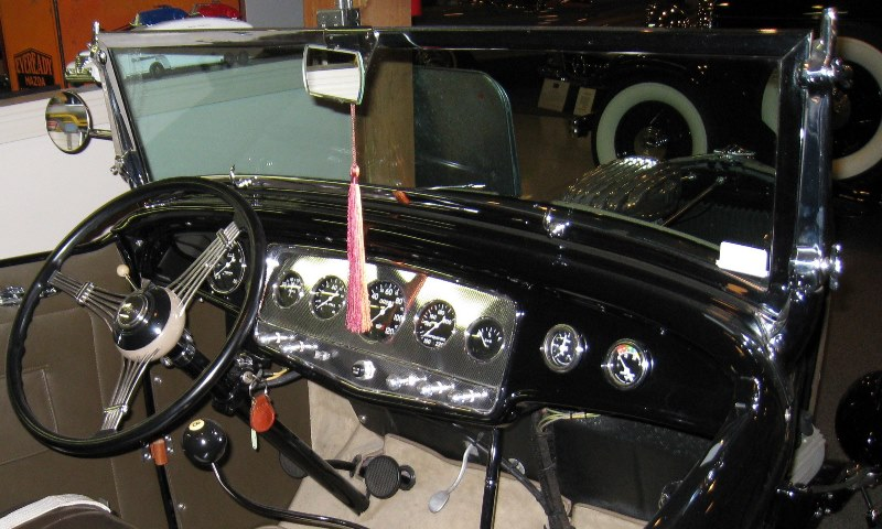 Our old Deuce Roadster - Glenn Mounger - Dash (1).jpg