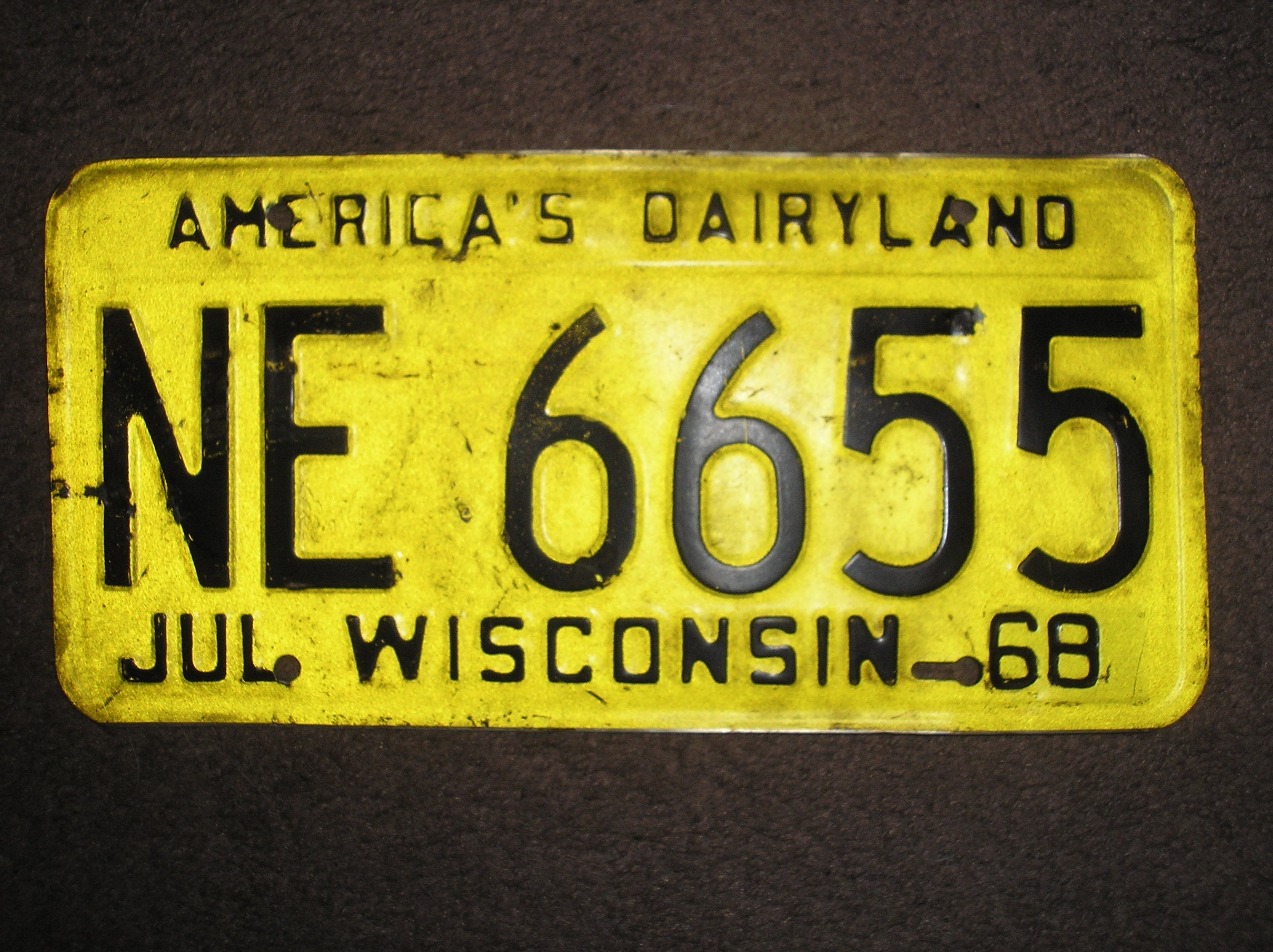 Old Wisconsin license platesSOLD | The H.A.M.B.