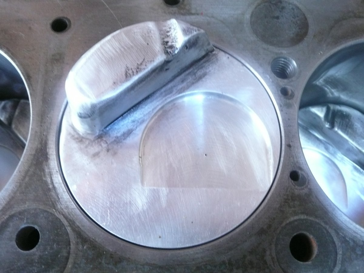 Technical - Dome Pistons for a 216 Chev | The H A M B