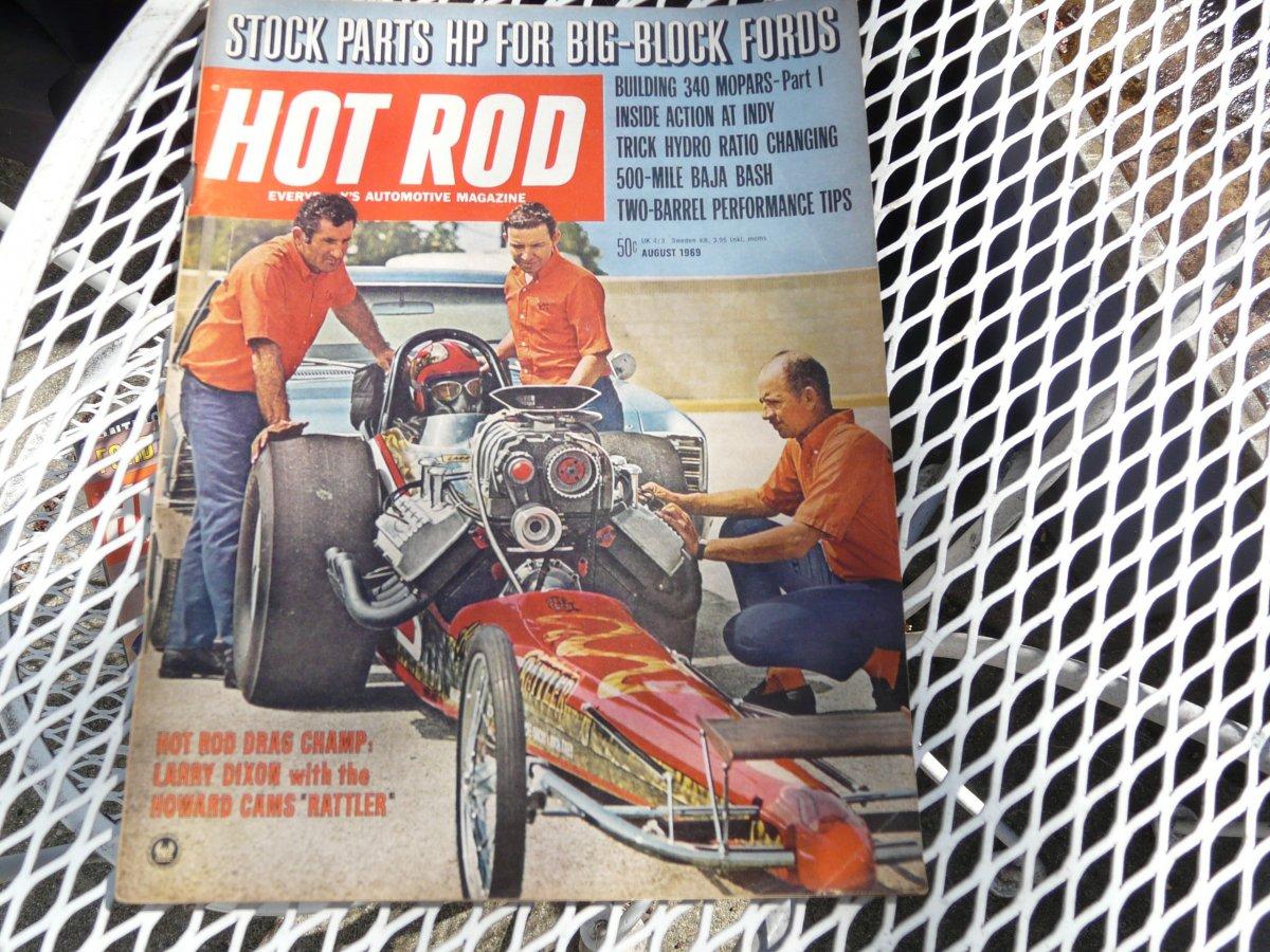 1969 Hot Rod Magazine Jan thru Dec   The H A M B