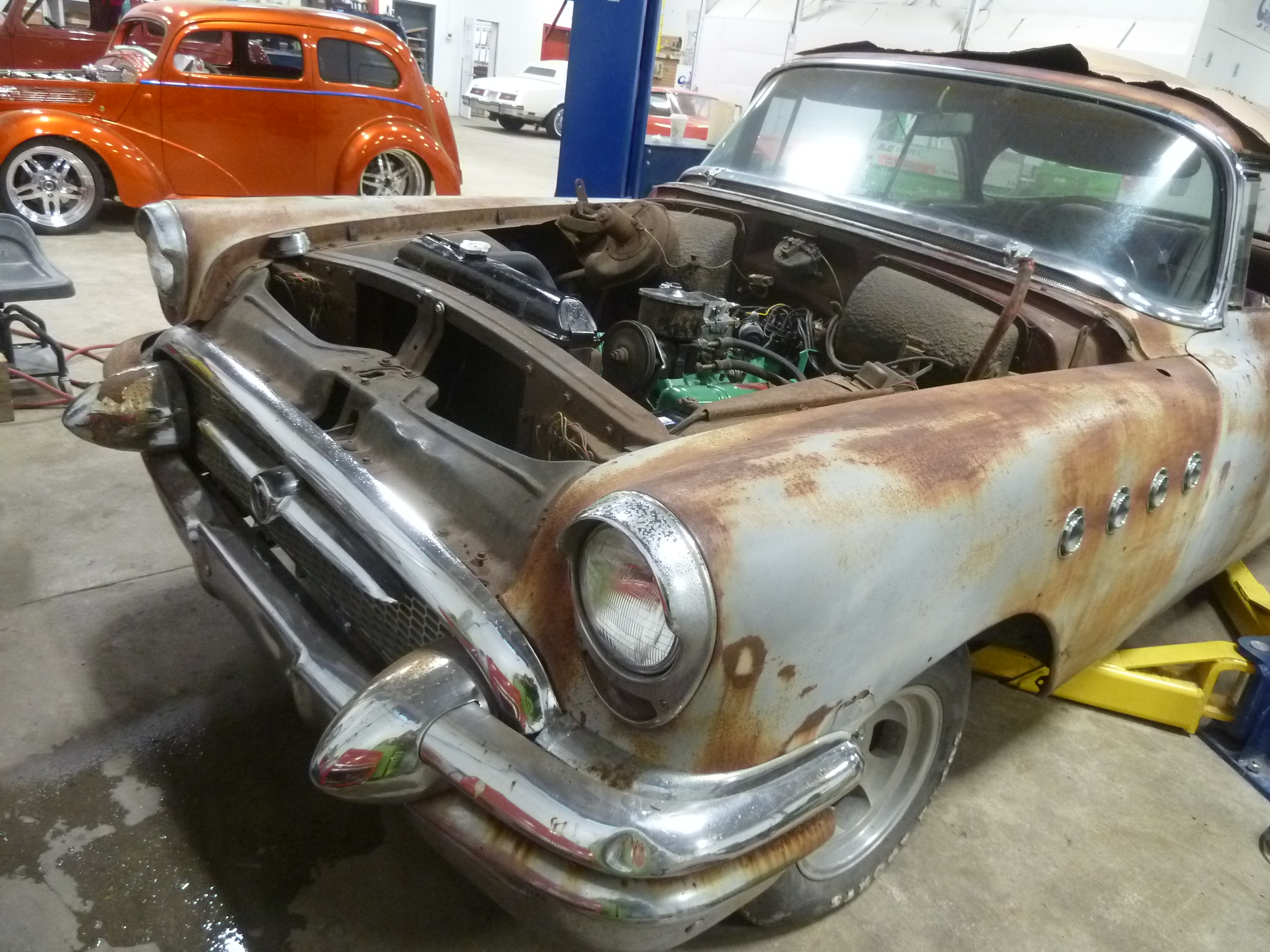 1955 buick super 56r 2 door the h a m b for 1955 buick riviera 56r super 2 door hardtop
