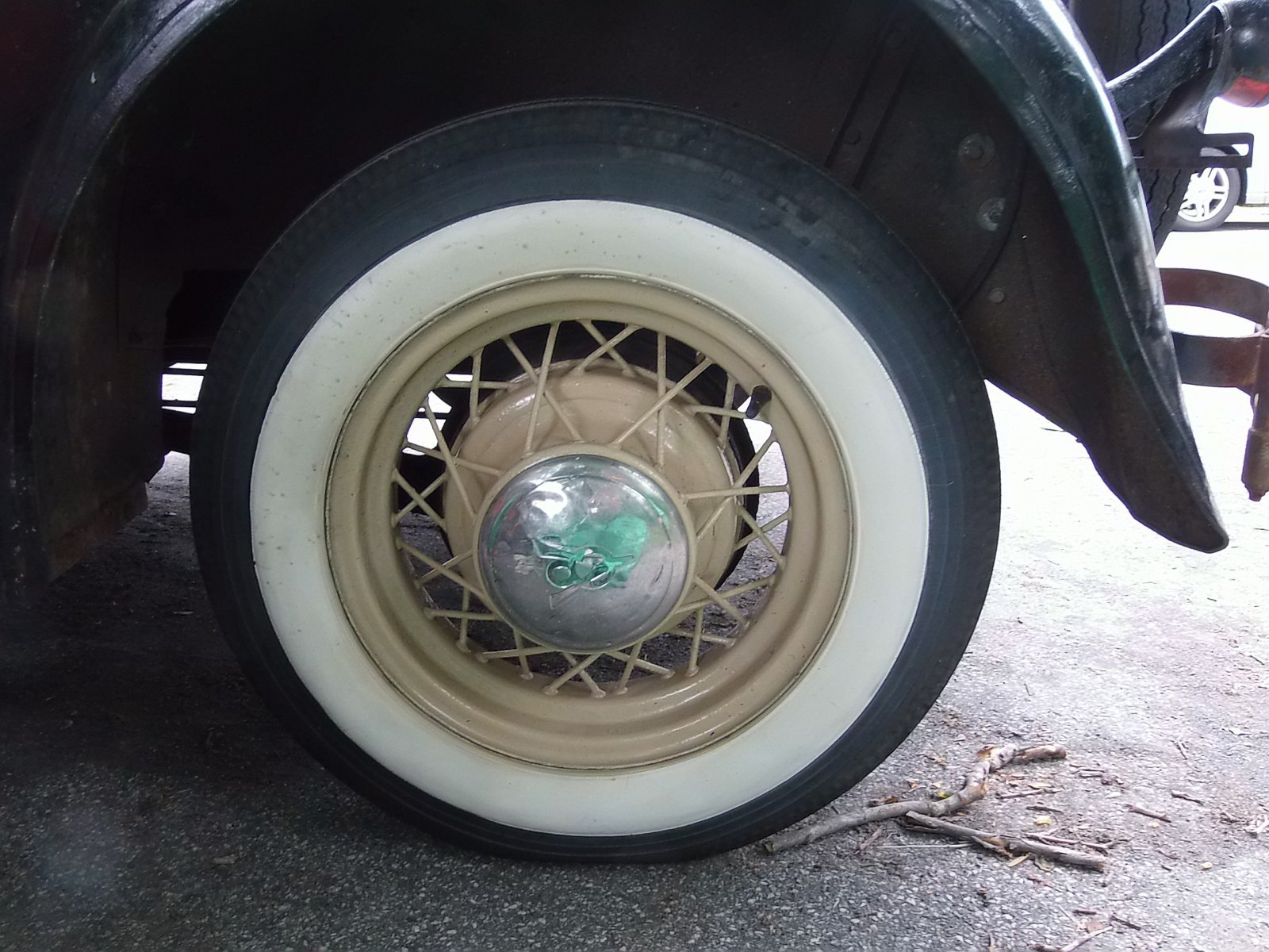 1935 Ford wire wheels set of 5 with tires and caps!!!GONE!!! | The ...
