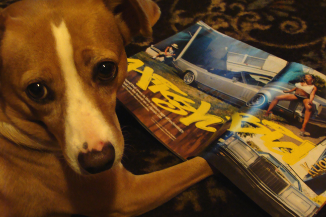 penny with lowrider.jpg