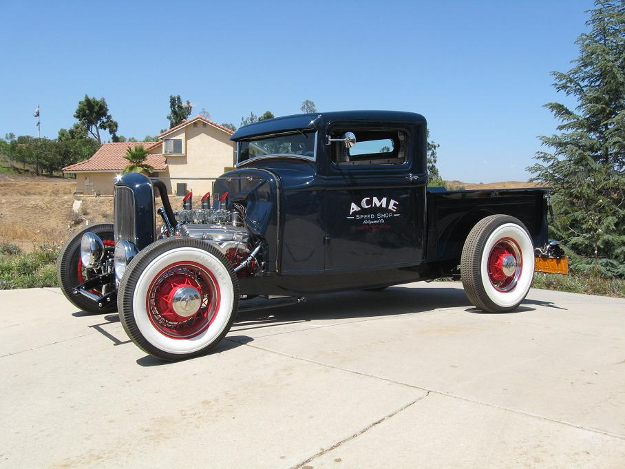Traditional 50\'s-\'s hotrod pickup pics | The H.A.M.B.