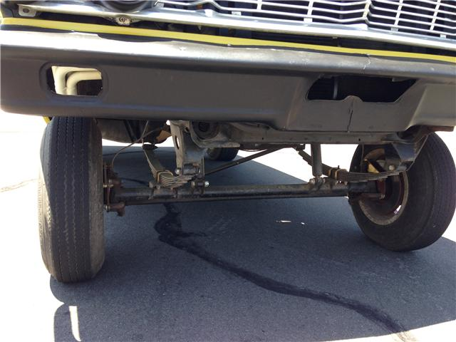 Straight Axle Gasser 1964 Ford Galaxie Xl 500 The H A M B
