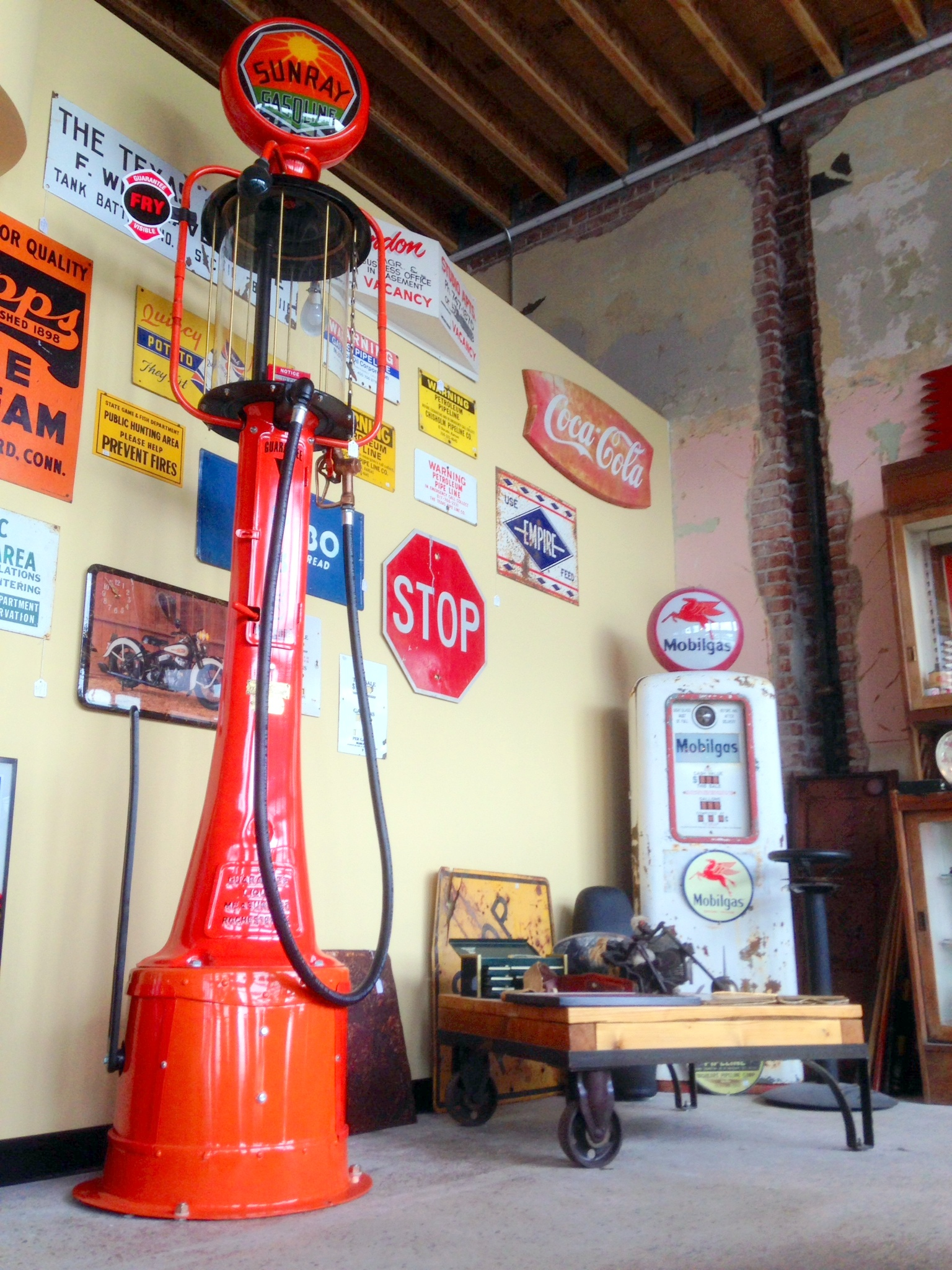 Restored Fry Visible Gas Pump Quot Mae West Quot The H A M B