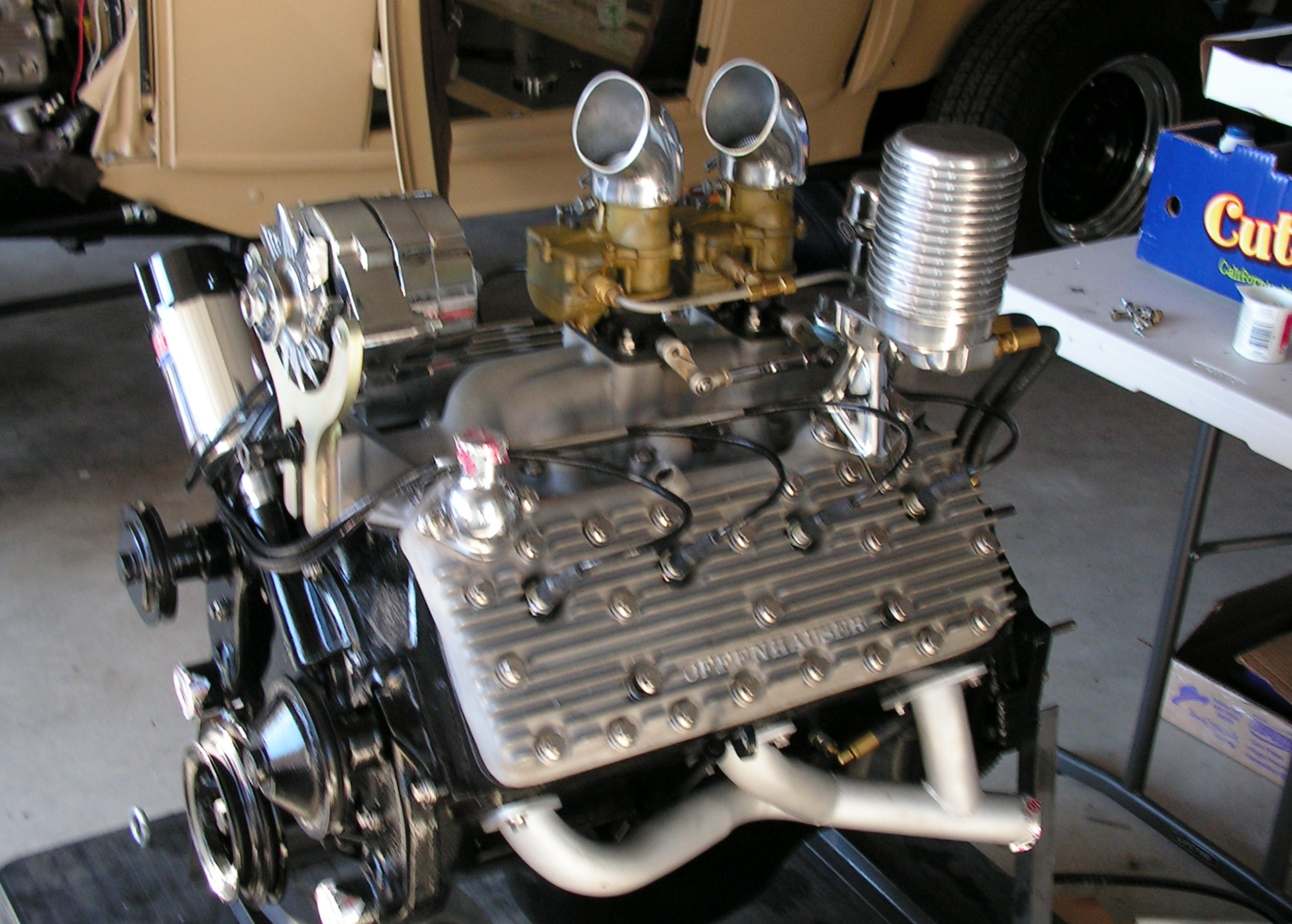 1951 Ford Flathead Motor plete For Sale
