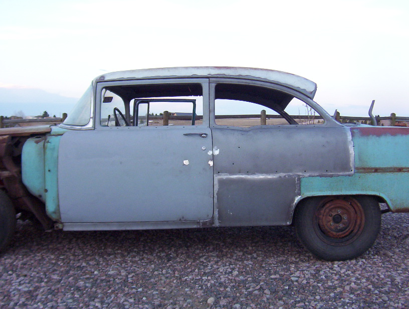 Picture_0052.JPG  sc 1 st  The Jalopy Journal & The Ultimate \u002755 Chevy 4-to-2 door Conversion! | The H.A.M.B.