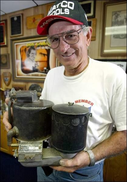 history the elusive pogue carburetor the h a m b Tom Ogle Vapor Engine Gas pogue carb don garlits