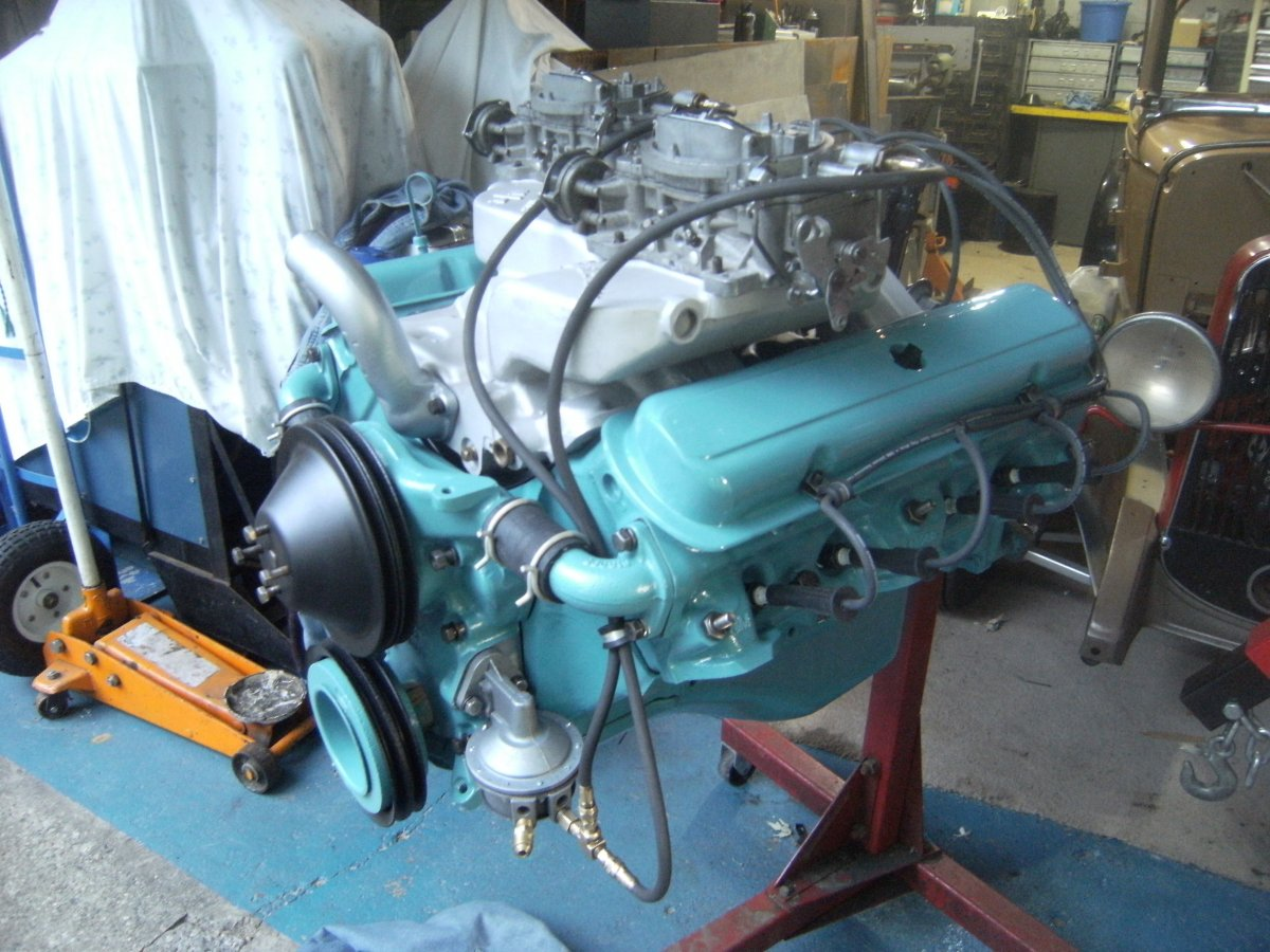 REAL DEAL GASSER ENGINE- PONTIAC 389/HYDRO- Ohio George ...