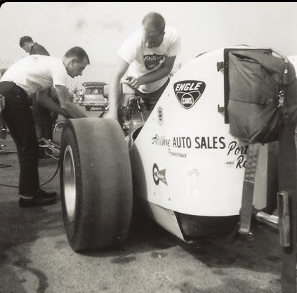 Porter & Ries AFD, from Pomona, at 1963 NHRA Winternationals. Courtesy of Mel Bashore.JPG