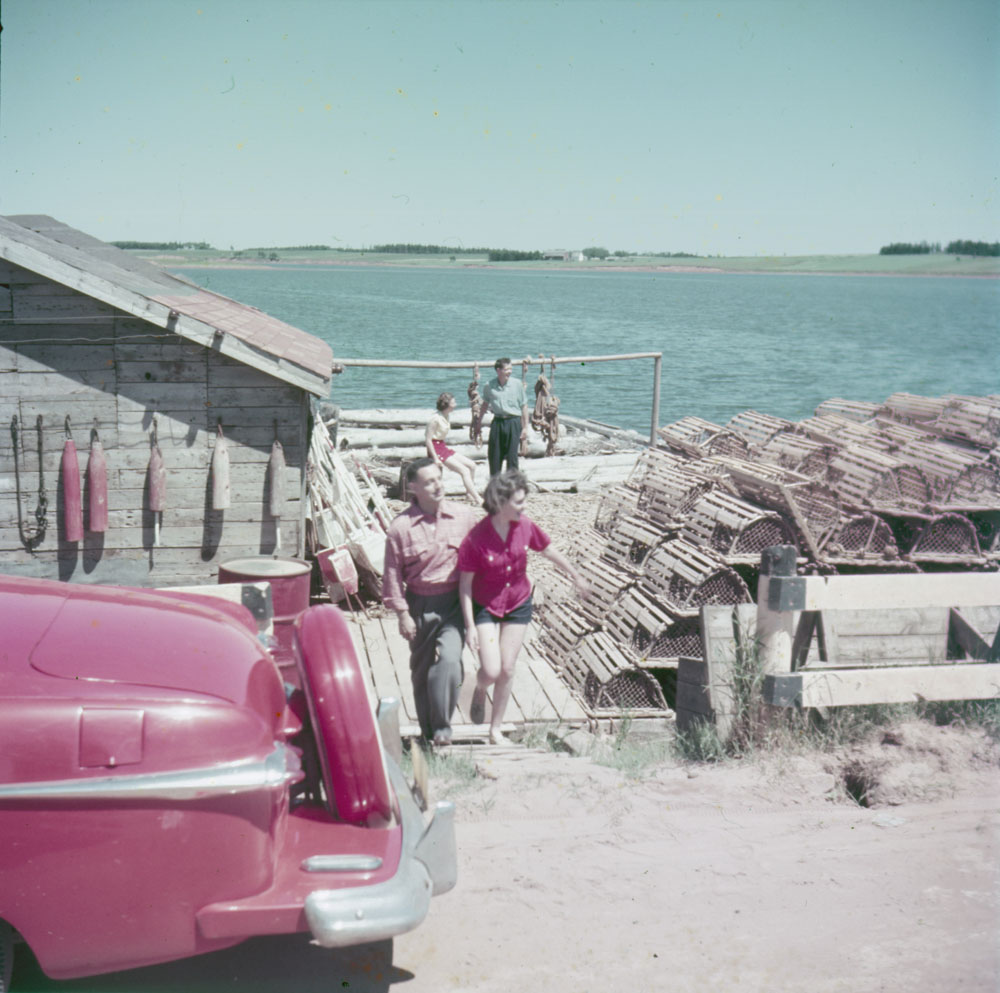 Quai-3 PEI July 1953.jpg