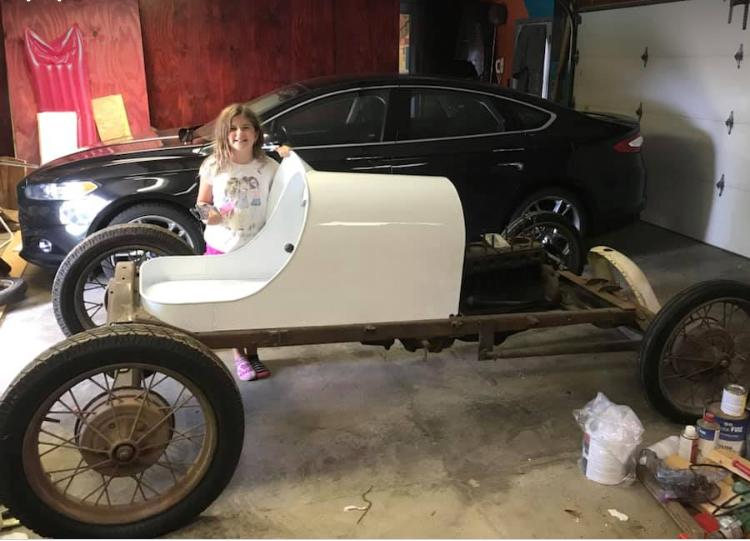 Sprint Cars For Sale >> two vintage model T A sprint midget dirt track race cars ...
