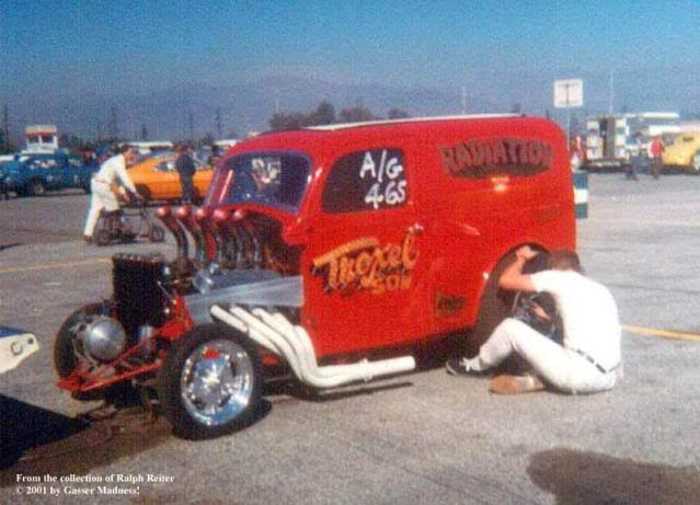Hot Rods - Thames Panel Truck Gassers | The H.A.M.B.