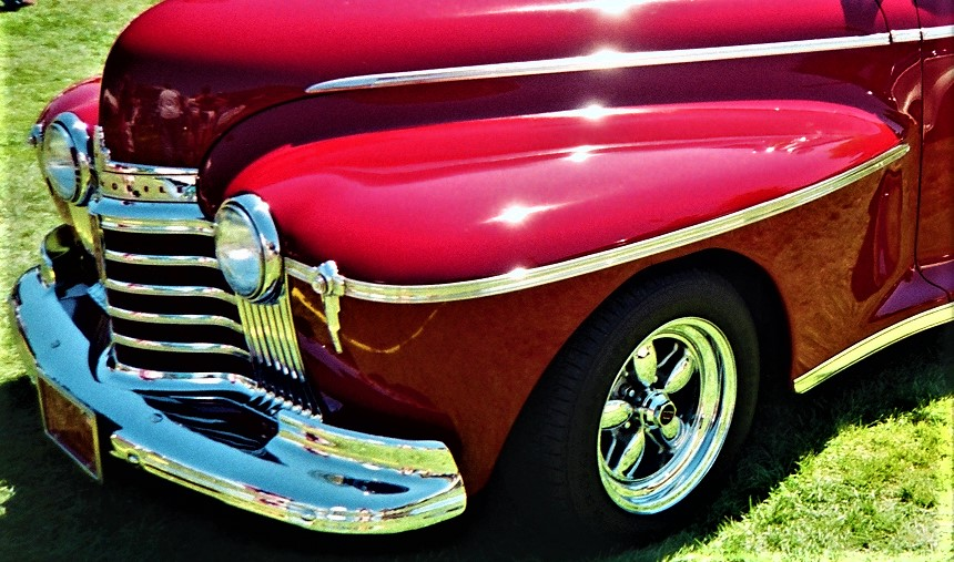 red 41 olds fender and nose.jpg