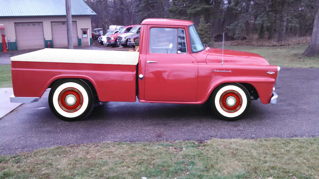 red truck white walls.jpg