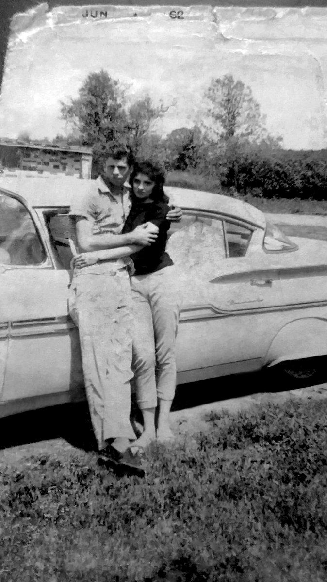 Richard case and Girlfriend (Wife of 56 years)1962.jpg