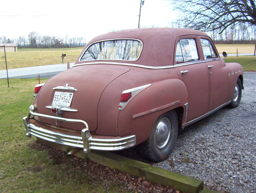 1949 plymouth special deluxe 4 door the h a m b for 1946 plymouth special deluxe 4 door