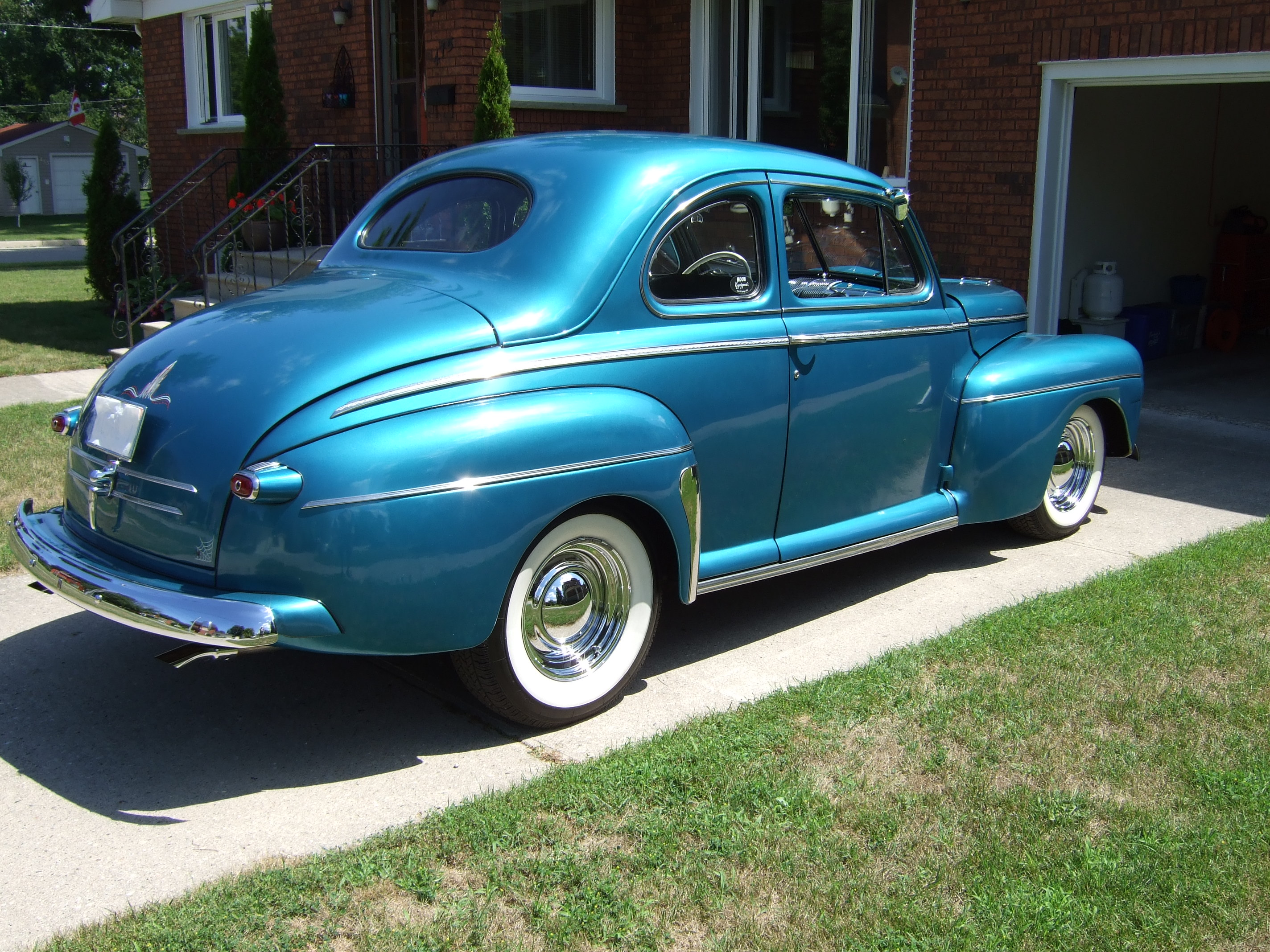 1946 Ford Coupe, Rust Free Original Body, Street Rod ...