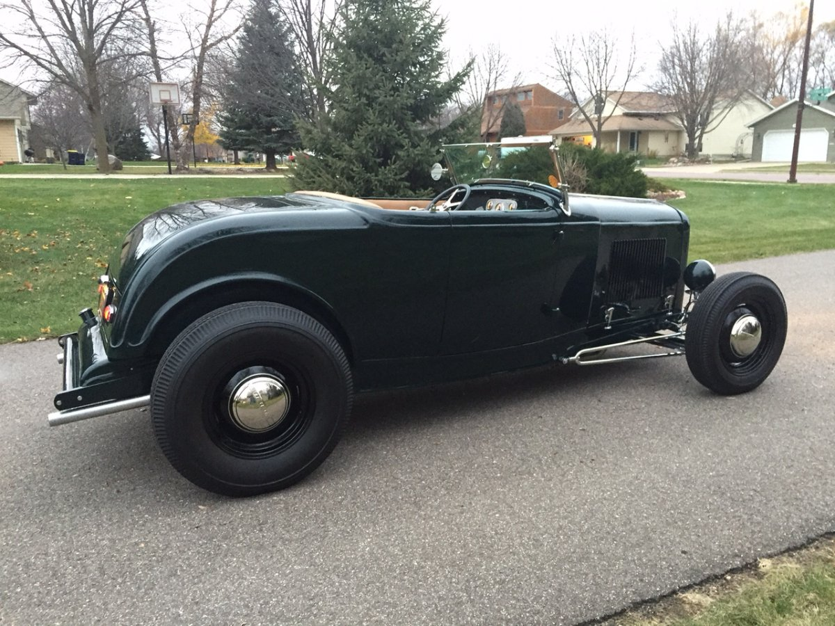Sold 1932 Ford Roadster Hiboy Repro Steel The H A