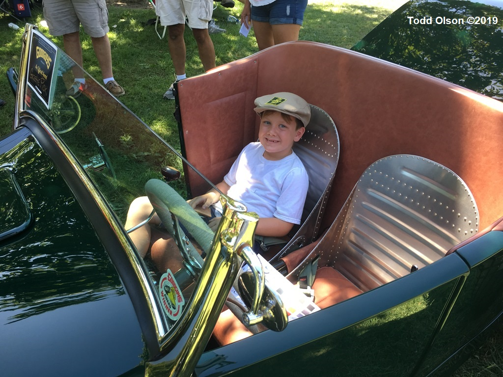 Rocky Walsh sitting in The Duke @ 2109 Goodguys WCN - by Todd Olson.JPG