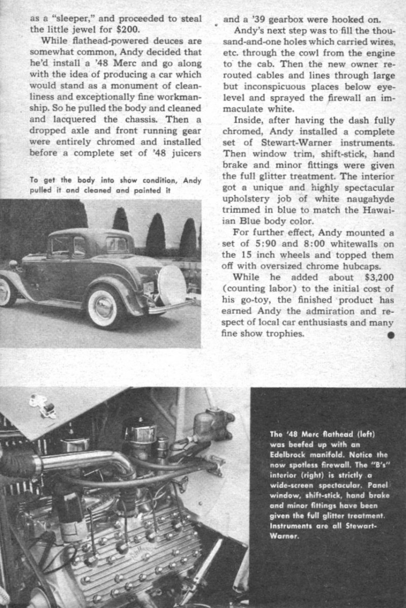 Rod Builder & Customizer - July '58 - Queen 'B' article - page 42 .jpg