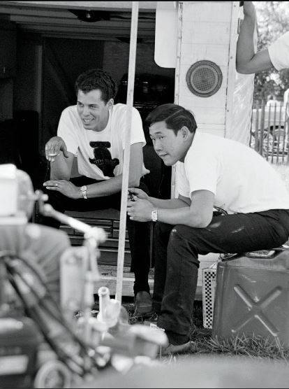roland Leong front with Don Prudhomme relaxing.JPG