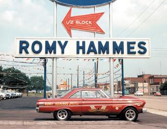 Romy Hammes AFX falcon In 1964.jpg