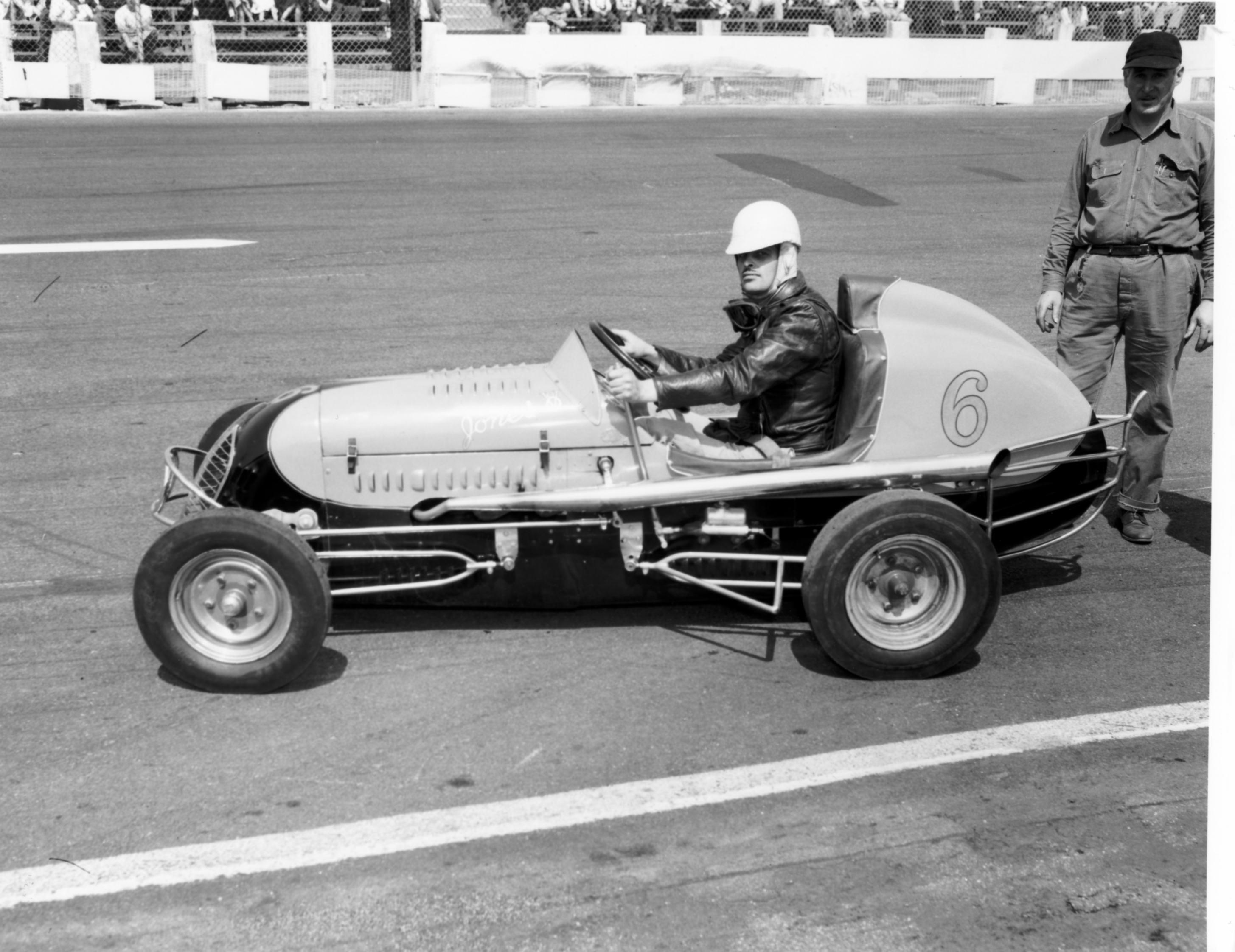 Evans midget racer #5