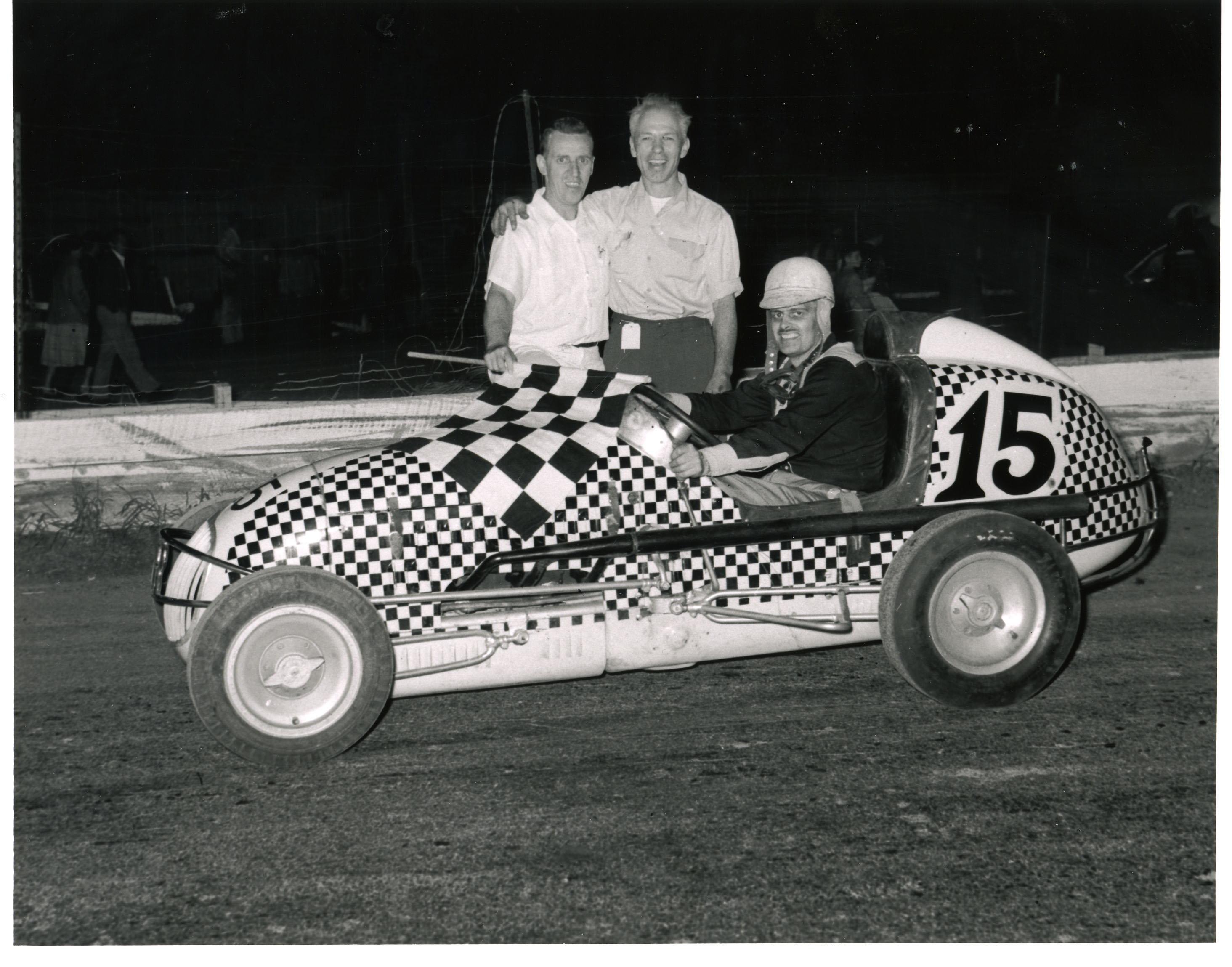 Evans midget racer