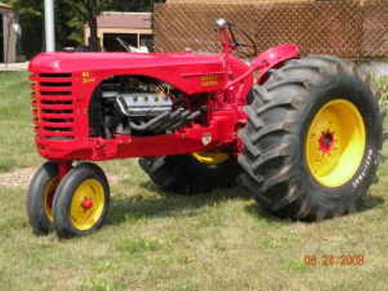 Roy Tallon's HEMI-powered '54 MASSEY HARRIS 44 Special tractor in 2008 (2).jpg