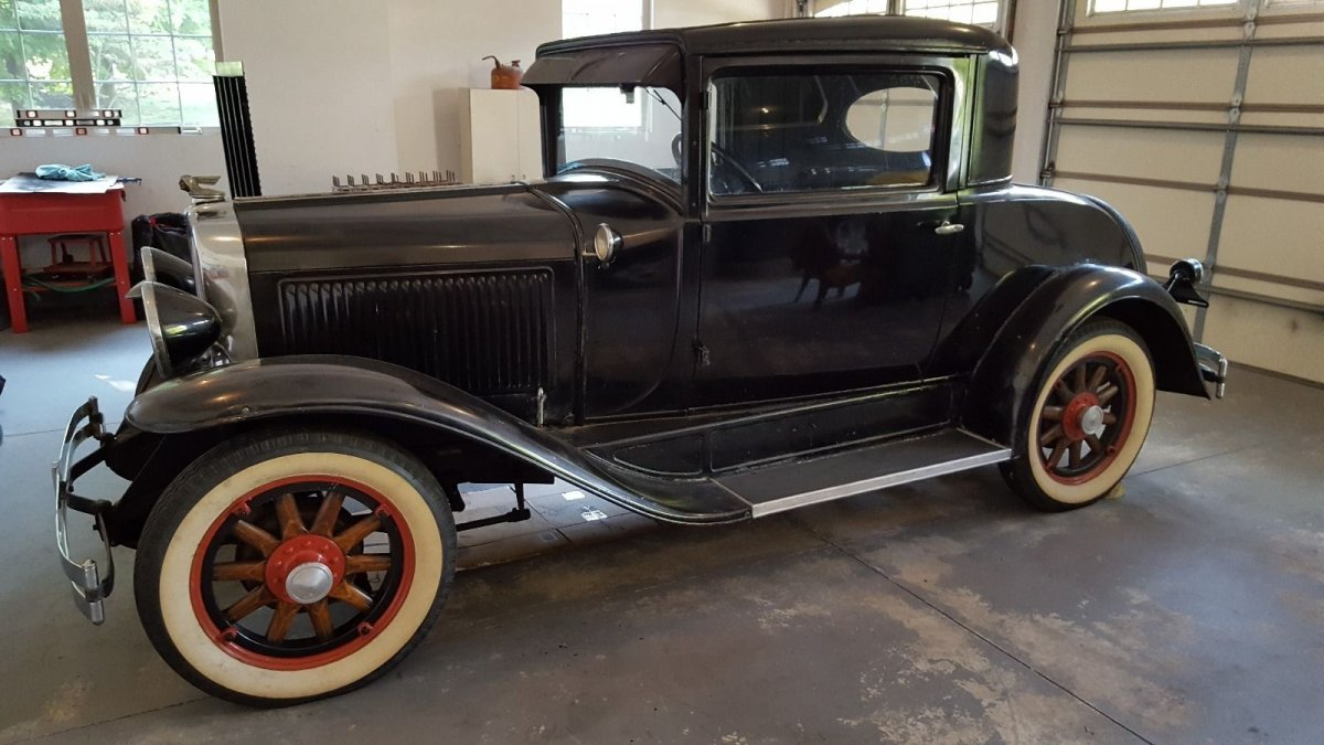 1929 PONTIAC 2 DOOR COUPE,ORIGINAL CAR,RESTORE OR STREET ROD   The ...