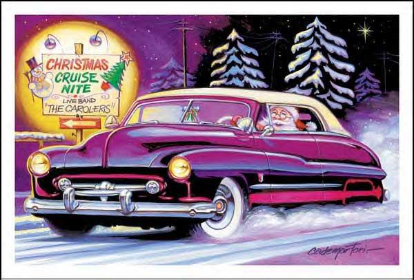 Art & Inspiration - TRADITIONAL Hot Rod & Custom CHRISTMAS ...
