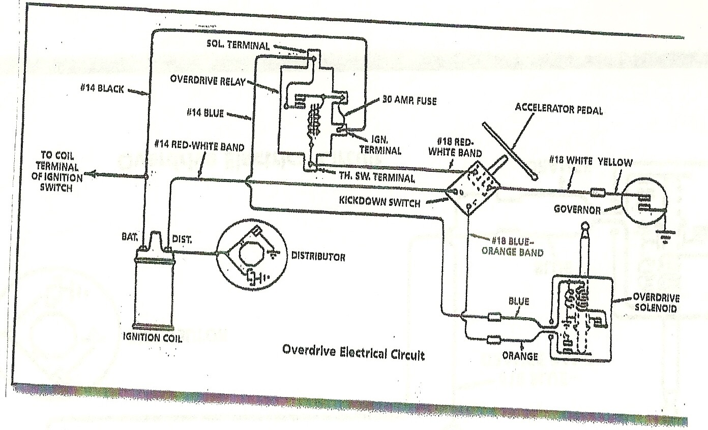 1956 Ford Main Line Wiring Diagram on 1955 studebaker wiring diagram