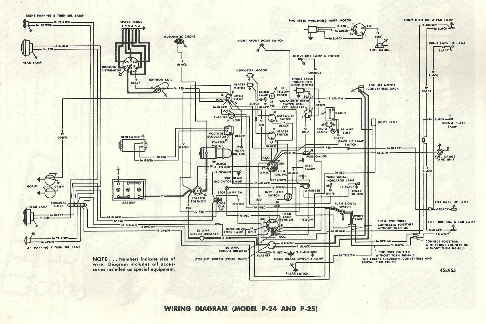 horn relay 53 plymouth the h a m b,1951 Desoto Headlight Wiring Diagram