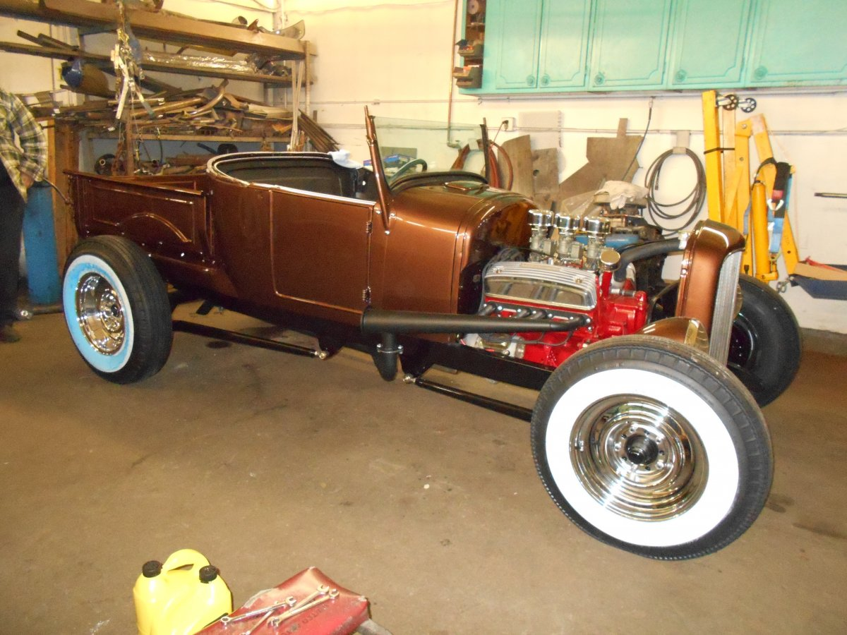 Hot Rods - Build thread for my '27 Model T RPU | Page 2