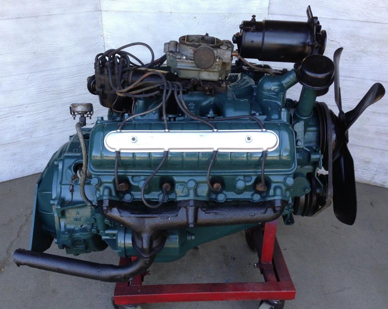 Mid 50's Oldsmobile 324 V8 engine   The H.A.M.B.