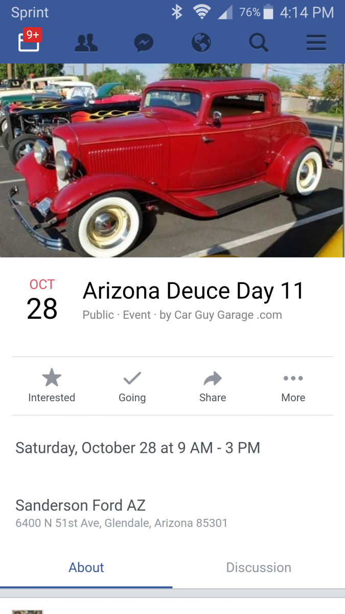 Hot Rods Arizona Deuce Day The HAMB - Sanderson ford car show