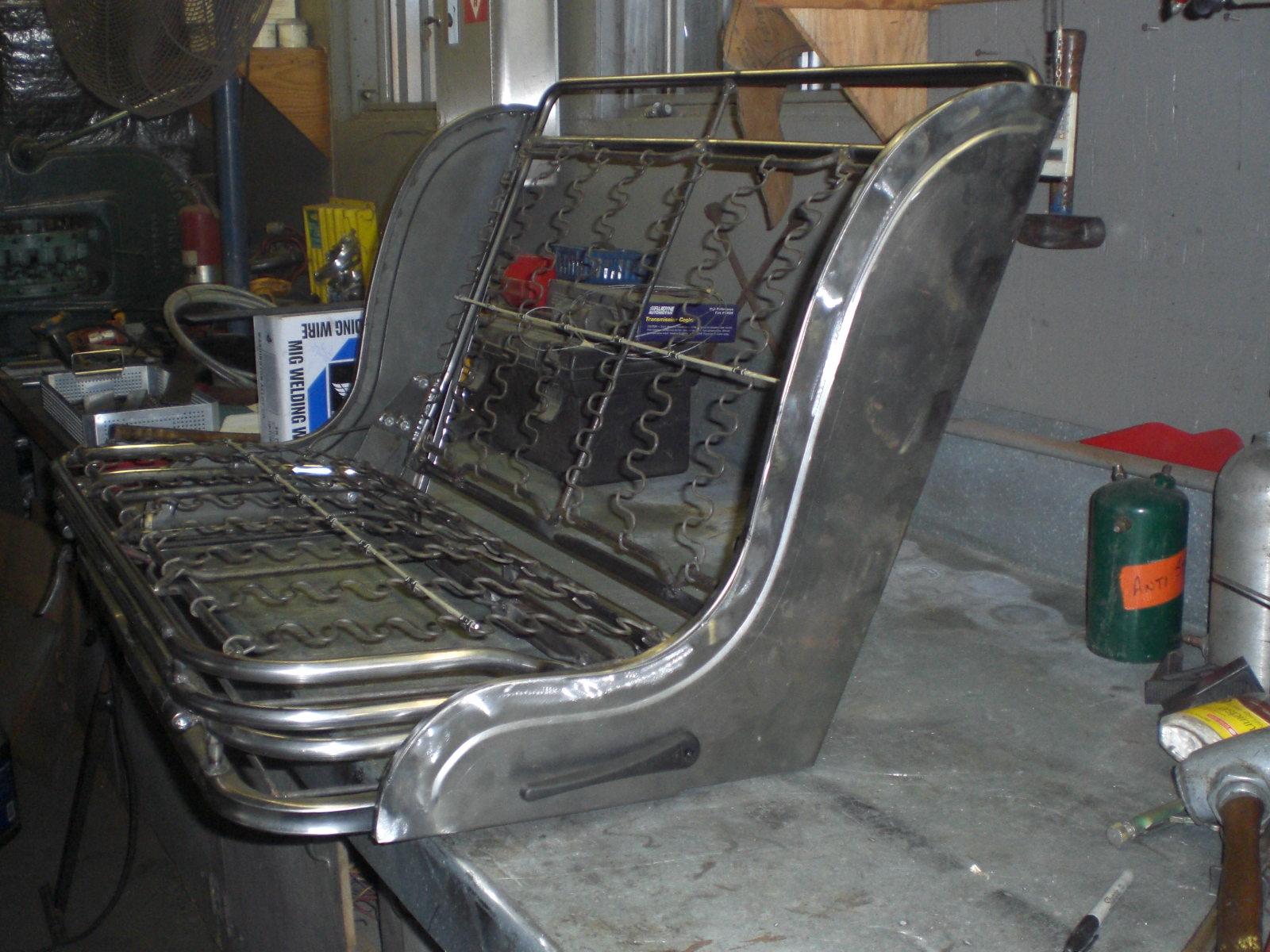 Hot Rod Seat Frames Model A Rollpans Bengels Hot Rod Prod