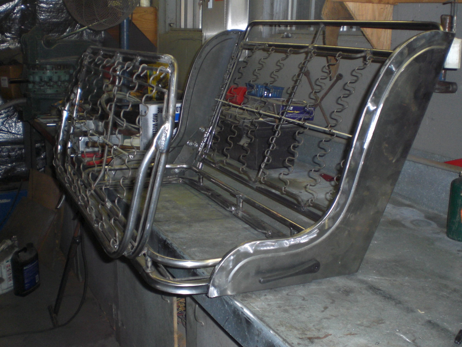 Hot Rods New Model A Seat Frame With Wings The H A M B