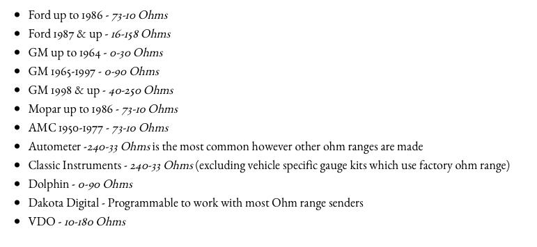 Sending units ohm range.png